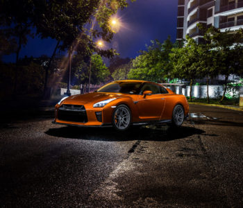 Katsura Orange Nissan GT-R – ADV5.2 M.V2 CS Series Wheels
