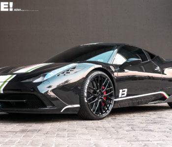 Black Ferrari 458 Speciale – ADV10.0 M.V2 SL Series Wheels