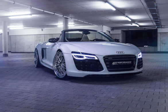 Ibis White Audi R8 Spider - ADV10.0 Track Spec Advanced Series Wheels