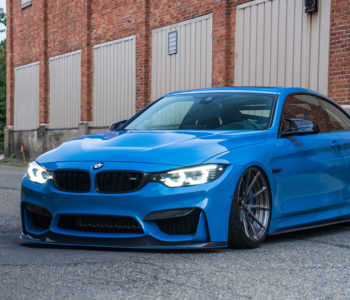 Yas Marina Blue BMW M4 – ADV10 M.V2 CS Series Wheels
