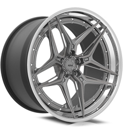 ADV510 Track Spec Advanced Series Three-Piece Wheels