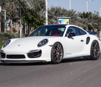 White Porsche 911 Turbo S – ADV5.0 M.V2 CS Series Wheels