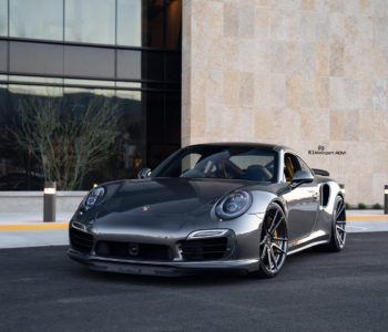 Dark Gray Porsche 911 Turbo S – ADV5.2 M.V2 SL Wheels