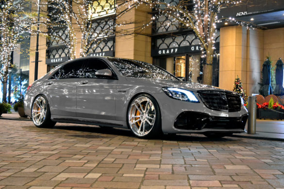 Nardo Gray Mercedes S63 AMG - ADV5.3 M.V2 CS Series Wheels