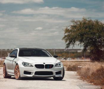Alpine White BMW M6 - ADV10 Track Spec SL Series Wheels