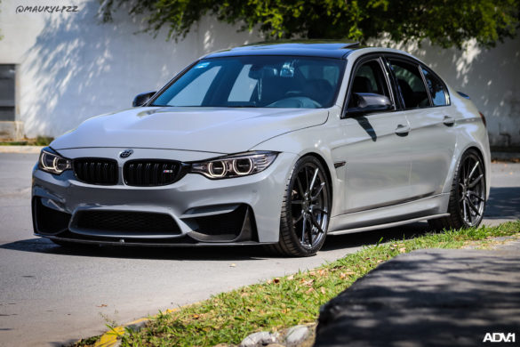 Nardo Gray BMW F80 M3 - ADV5.0 M.V2 CS Series Wheels