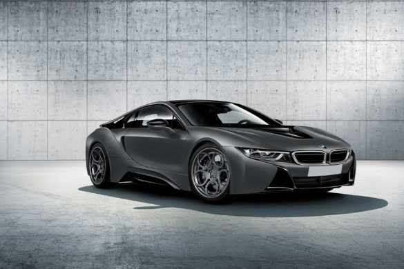 Rendering: Grey BMW i8 – ADV05C Track Spec CS Wheels