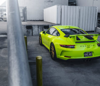 Acid Green Porsche 911 GT3 – ADV5.0 Track Spec CS Series Wheels