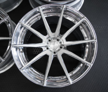 ADV10 M.V2 CS Series Wheels – Brushed Alum. w/ Polished Windows – Mercedes S-Class