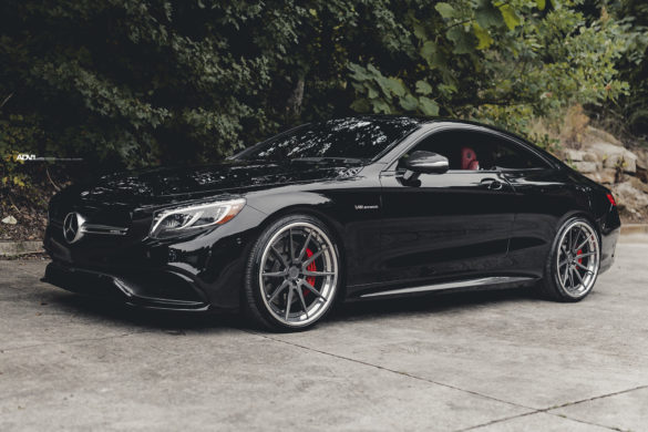 Black Mercedes S63 AMG Coupe – ADV10 Track Spec CS Series Wheels
