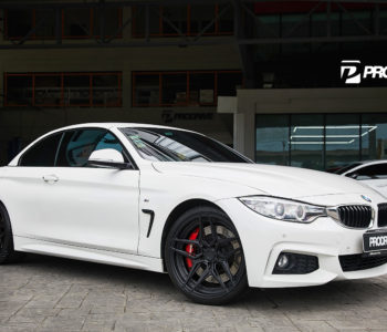 Alpine White BMW 435i Convertible – ADV510 M.V2 Advanced Series