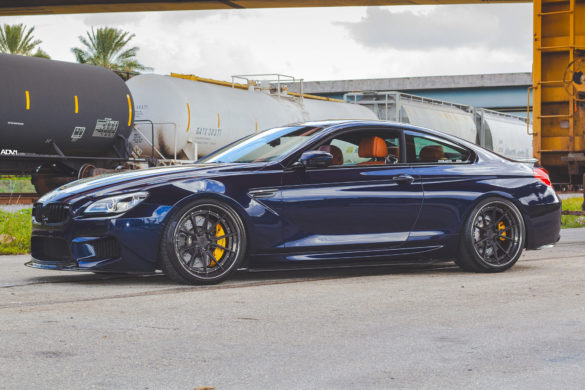 Tanzanite Blue Metallic BMW M6 – ADV5.2 Track Spec Advanced Series Wheels