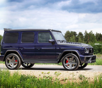 Blue Mystic TopCar Mercedes-AMG G63 INFERNO – ADV5 M.V1 CS Series Wheels
