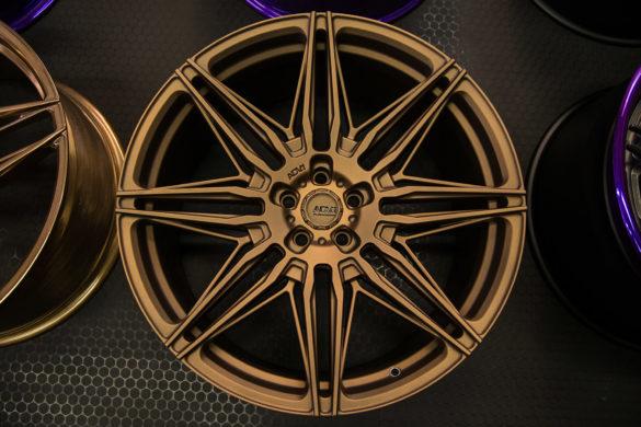 ADV08 FlowSpec Wheels – Bespoke Matte Bronze