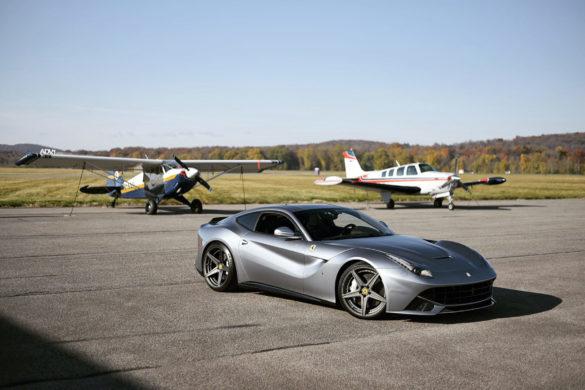 Grigio Titanio Ferrari F12 Berlinetta – ADV5 M.V2 SL Series Wheels