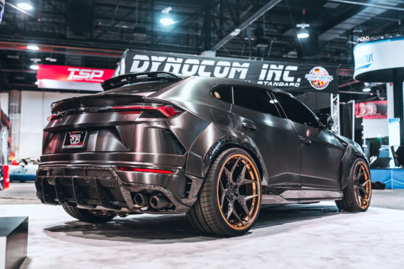 RDBLA Brushed Black 1016 Industries Widebody Lamborghini Urus – ADV05D Track Spec Advanced Series Wheels