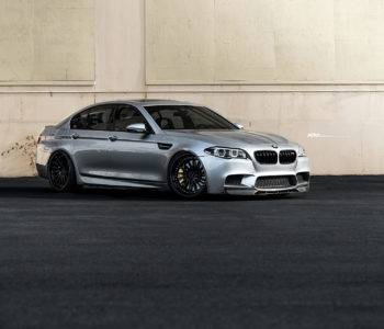 Limited Edition Pure Silver BMW M5 – ADV15R Track Spec CS Series Wheels