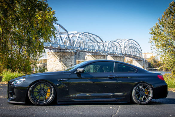 Black Sapphire Metallic BMW F13 M6 – ADV5.2 Track Spec Advanced Series Wheels