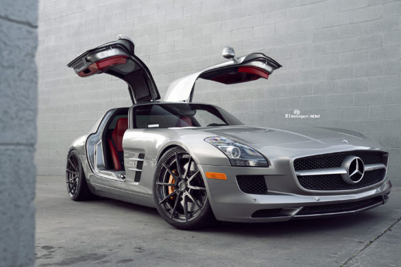 Mercedes Benz SLS AMG - ADV10 M.V2 CS Series Wheels