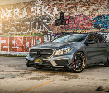 Mercedes GLA45 AMG – ADV5.2 Track Spec Advanced Series Wheels