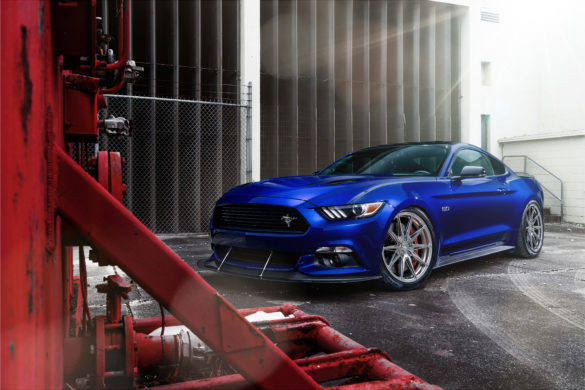 Ford Mustang S550 – ADV5.0 FLOWspec Wheels in Platinum Black