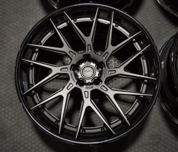 ADV8R Track Spec CS Series Wheels – Matte Black w/ Gloss Black Lips