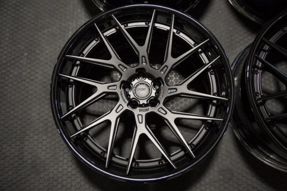 ADV8R Track Spec CS Series Wheels – Matte Black w/ Gloss Black Lips