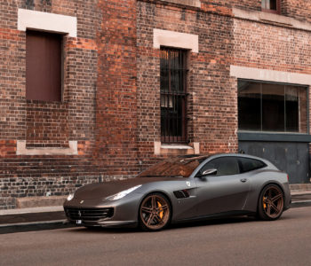 Matte Gray Ferrari GTC4 Lusso – ADV05 M.V2 Advanced Series Wheels