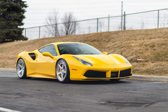 Giallo Modena Ferrari 488 GTB – ADV5 Track Spec Advanced Series Wheels