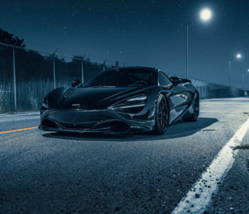Amethyst Black McLaren 720S – ADV510 Track Spec Advanced Series Wheels