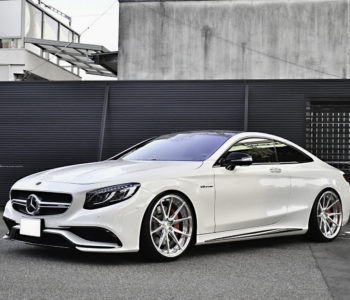 White Mercedes S63 AMG – ADV5.2 M.V2 Advanced Series Wheels
